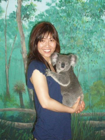 Koala is very soft